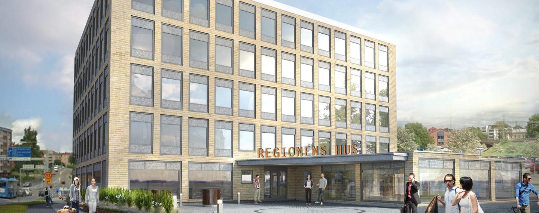 Regionens hus, Skövde - Projektfakta