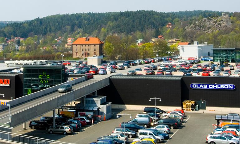 Ett levande köpcentrum mitt i centrum