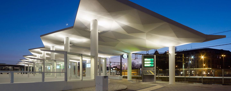 Halmstad regionbussterminal - Projektfakta