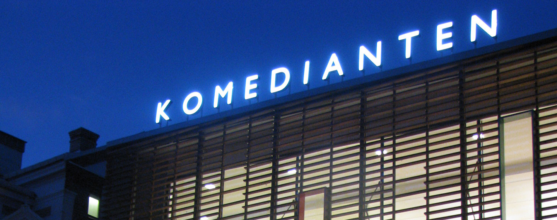 Kulturhuset Komedianten - Projektfakta