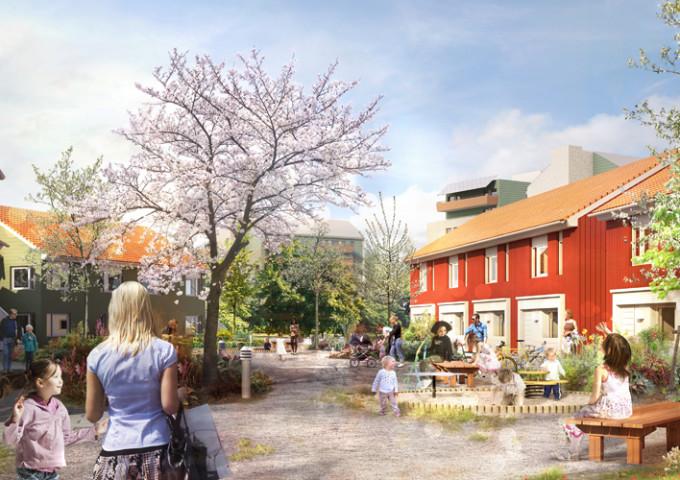 Vi vann tävling om nytt bostadsområde i Skövde