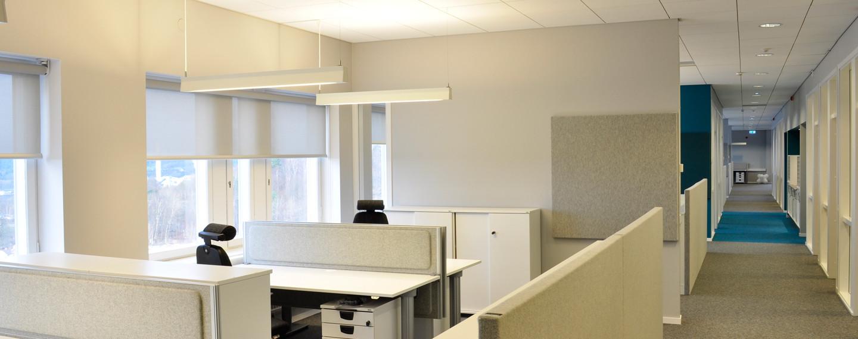 Kontor för områdesledningen, Östra Sjukhuset, Göteborg - Projektfakta