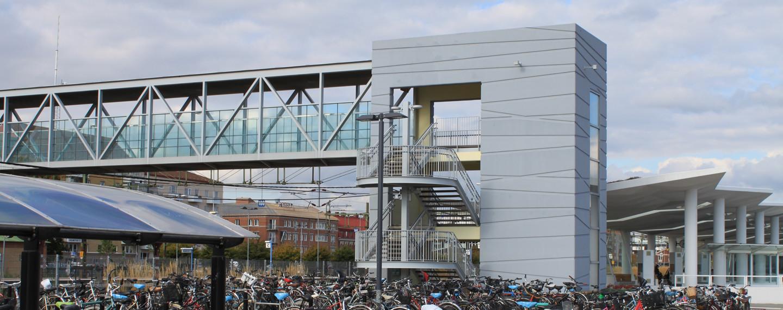 Gångbro Halmstad Resecentrum - Projektfakta