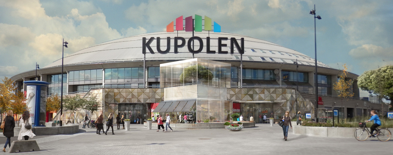 Kupolen köpcentrum, Borlänge - Projektfakta