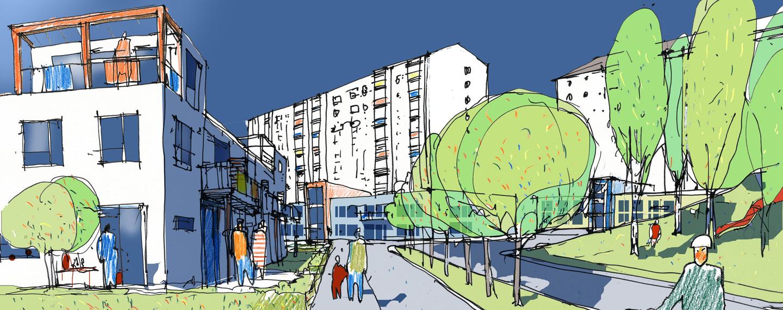 Södra Bergsjön, Göteborg - Projektfakta