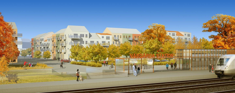 Centrumutveckling, Vårgårda - Projektfakta