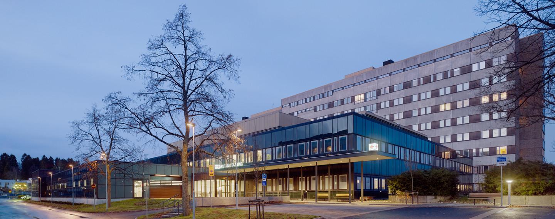 Ny akutmottagning, SU Östra sjukhuset, Göteborg - Projektfakta
