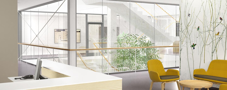 Nya Infektion vid Södra Älvsborgs sjukhus i Borås - Projektfakta