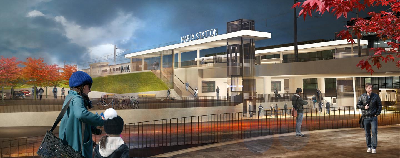 Maria Station, Helsingborg - Projektfakta