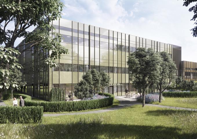 Östra sjukhusets nya hjärta