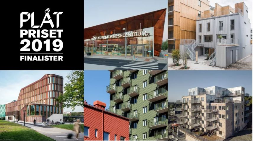 ABAKO finalist i Plåtpriset 2019