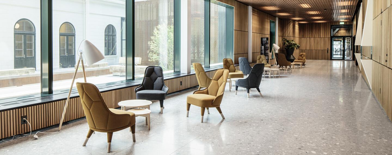 Nya Regionens Hus, Göteborg - Ett ABW-kontor till Västra Götalandsregionen