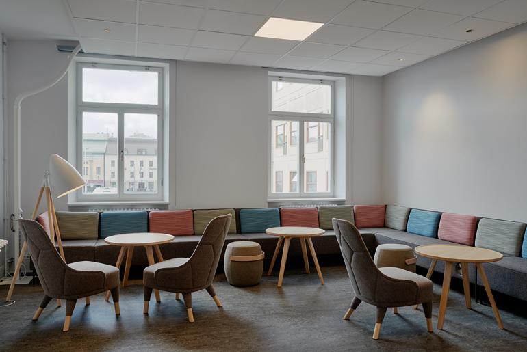 ZON 1 Samarbetsmiljö - lounge