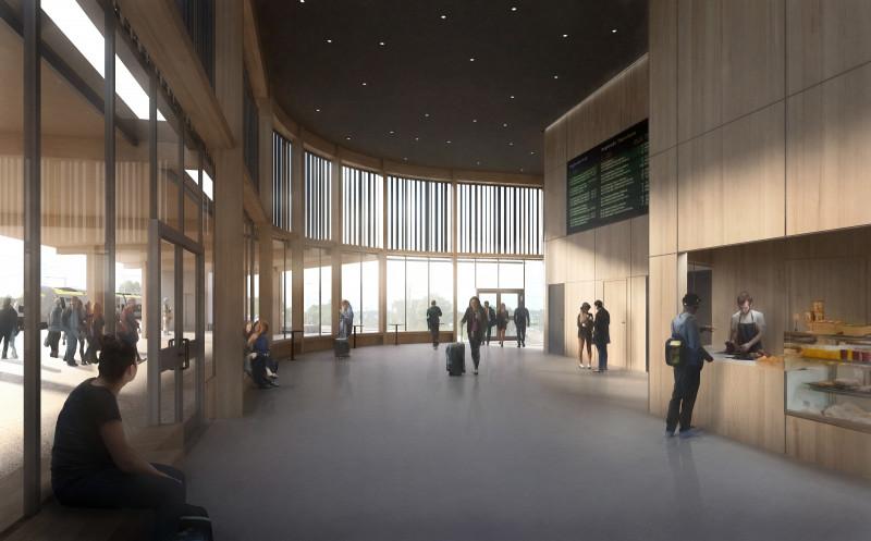 Inbjudande interiör skapar en trygg miljö.