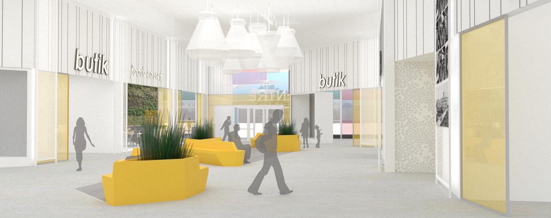 Kungsfors köpcentrum - Skene, Marks kommun