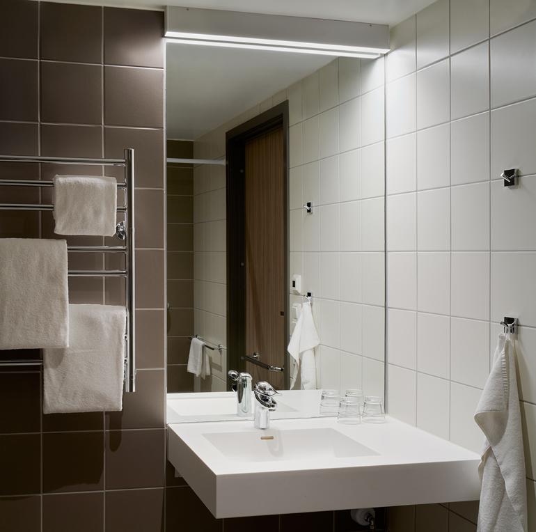 WC och dusch med tillgängliga mått
