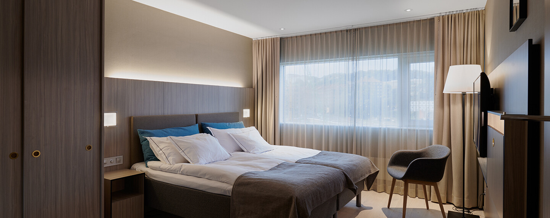 Gothia Towers, Göteborg - Tillgänglighetsanpassade hotellrum med lyxkänsla