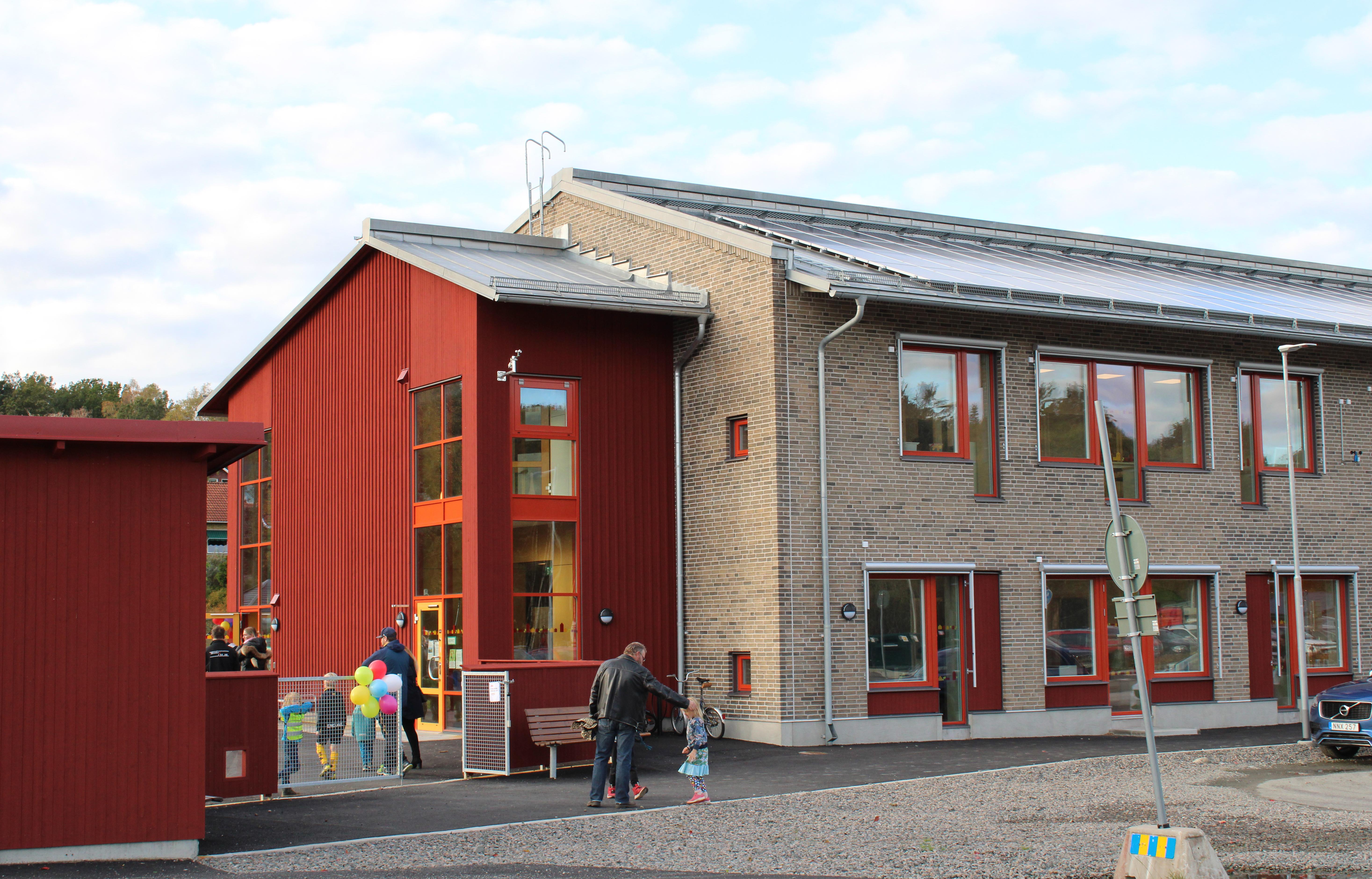 Välbesökt invigning av yteffektiv förskola