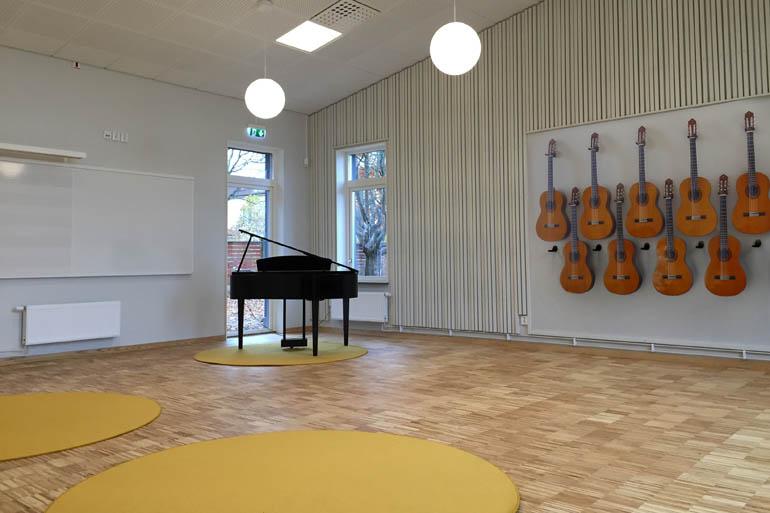 Gestaltning som stödjer god akustik